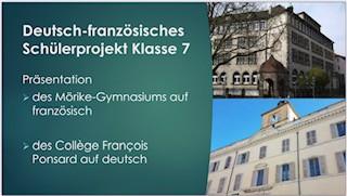 Deutsch-französisches Schülerprojekt